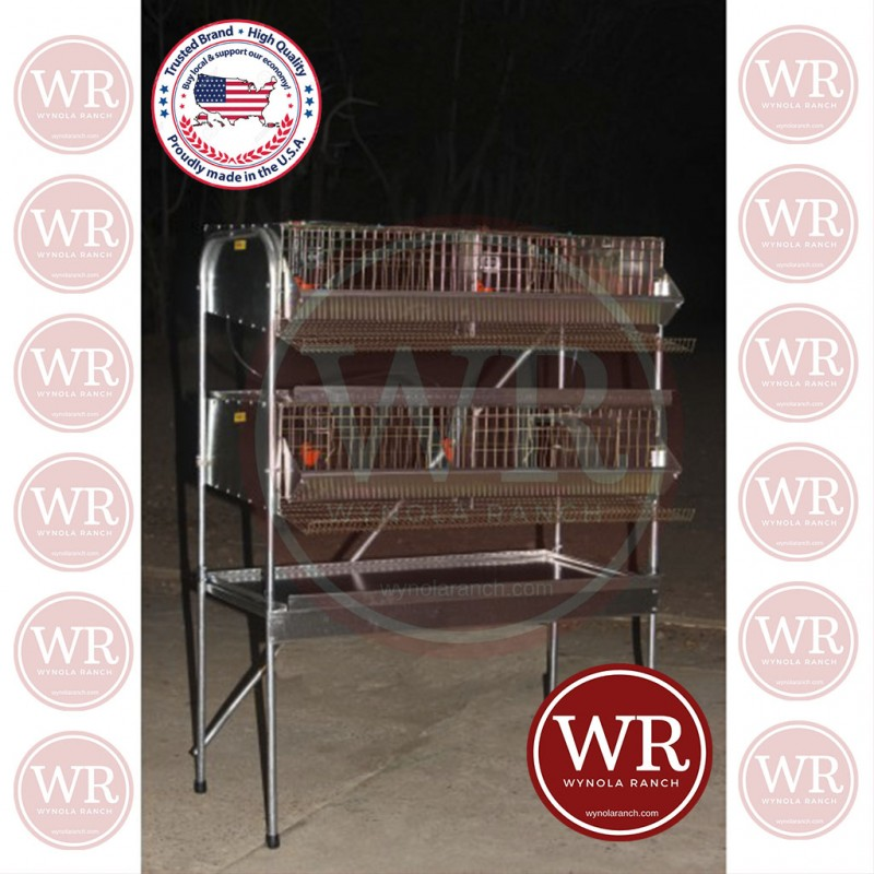 "36""  H.D Double Rack Community Q"