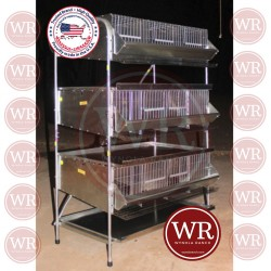 "36""   3 Tier Pen Community quail"