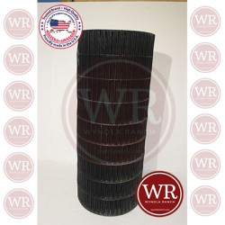 Black PVC Coated Welded Wire Met