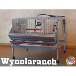 "22""  QUAIL LAYER CAGES..."