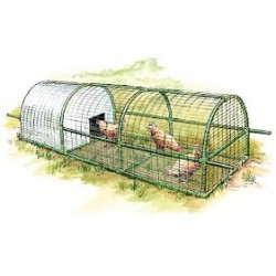 Low cost poultry houses