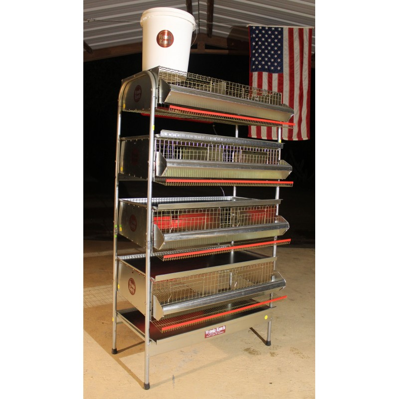 "36""- 4 Tier Heavy Duty Battery Q"
