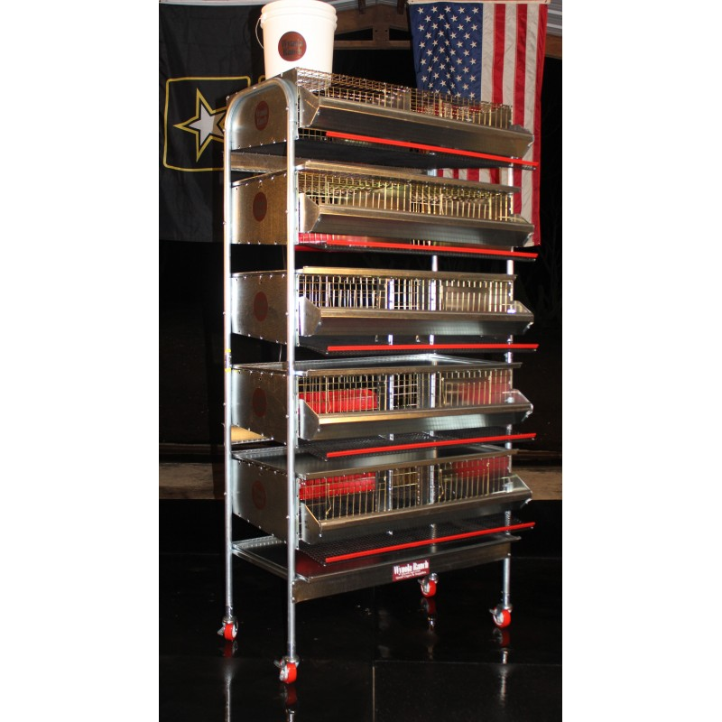 "36""-5 Tier Breeding Battery (7 S"